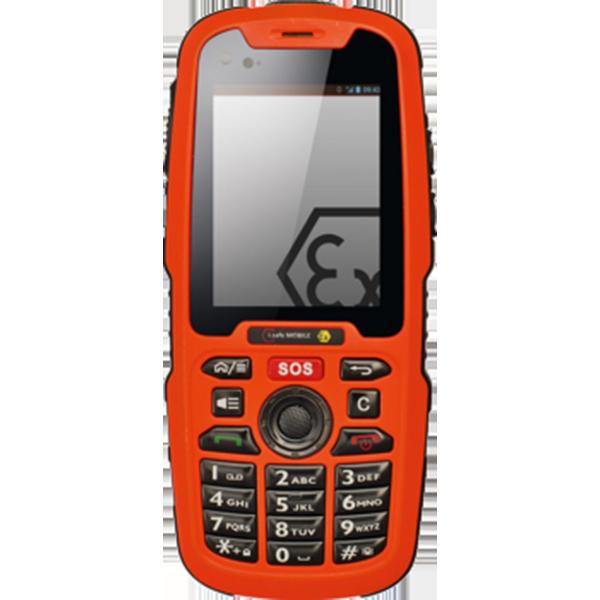 IS320.1 Intrinsically safe phone - i.safe mobile