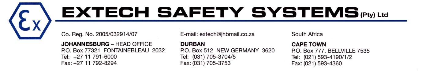 extech address